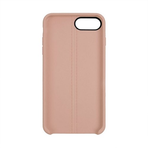 Hülle für iPhone 7 plus , Schutzhülle Für iPhone 7 Plus Central Double Line Glatte Oberfläche Soft TPU Schutzhülle ,hülle für iPhone 7 plus , case for iphone 7 plus ( Color : Apricot ) Apricot