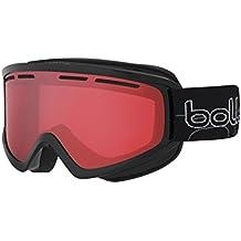 Bollé–Gafas de esquí balas Shiny Black vermillon Gun, 21485