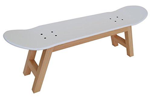 Skateboard Hocker–NEUE Kinder Skateboarder Fun Geschenk Idee, Nordic weiß (Skateboard-zimmer Dekor)