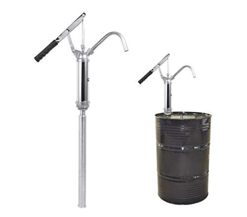 Fagtpumpe, Lever Barrel Pump Hand Action Öl Fluid Diesel Wasser-Übertragung Chrome Plated 55 Gallon Drum mit abnehmbare Düse -