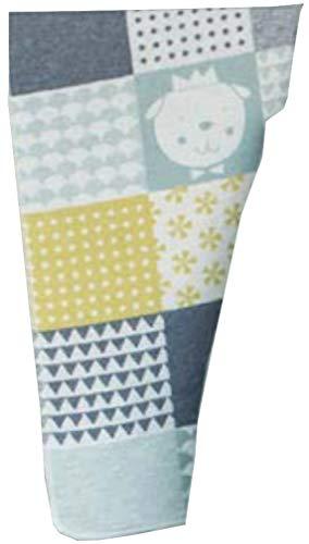 Fussenegger Babydecke Baumwollmischung grün/gelb Größe 70x90 cm