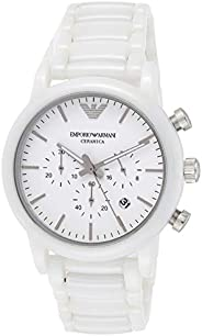 Emporio Armani Mens Quartz Watch, Analog Display and Ceramic Strap AR1499