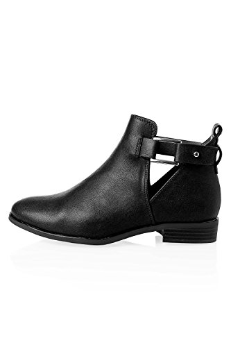Only Damen Stiefelette Stiefel Cut Out Boots Black