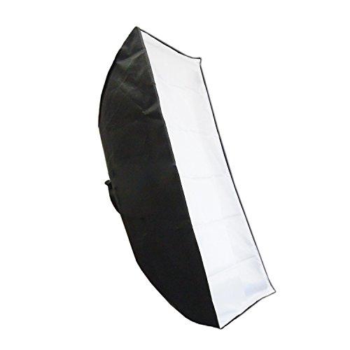 Softbox Lichtbank DynaSun SPEC40140 40x140cm Profi Licht Studio Softbox mit Bowens Adapter Aufsteckblitz Systemblitz Strobist
