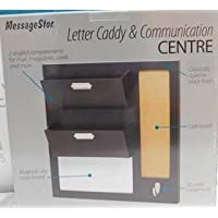 messagestor carta Caddy y centro de comunicaciones correo organizador magnético Corkboard llavero de borrado en seco