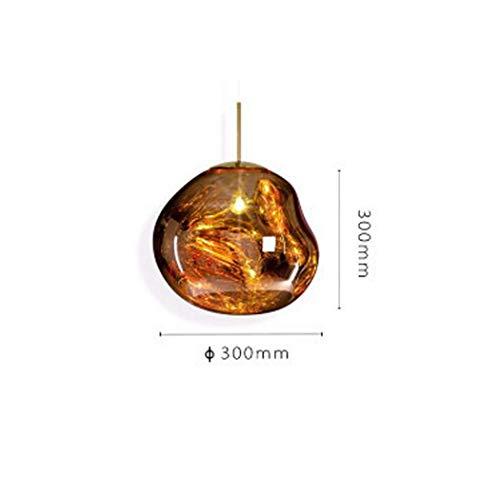 Winxc Hängelampe Nordic Kronleuchter Wohnzimmer Beleuchtung Designer Postmoderne Pendelleuchte Kreative Minimalistische Restaurant Cafe Lava Deckenleuchte -