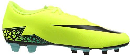 Nike Hypervenom Phade Ii Fg, Chaussures de Foot Homme, UK Multicolore (Vert Volt/Black/Hyper Turquoise/Clear Jade)