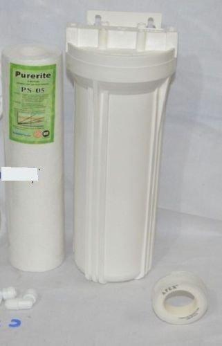 "3Eg Flow Pre Filter Housing/Standard Size10"" For 10""Spun Filter/Ro/Uv/Water Purifier"
