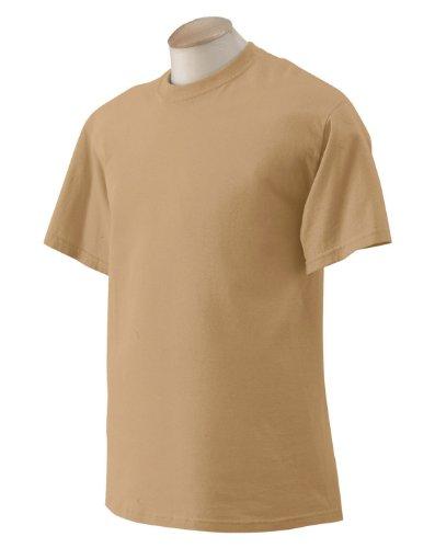Gildan Ultra Herren T-Shirt (2XL) (Altgold) XXL,Altgold