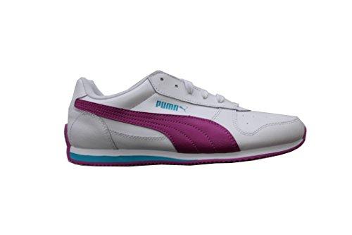 Puma Fieldsprint White Violet Capri Size 38 1/2