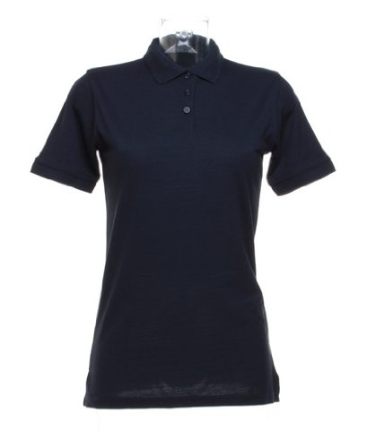 Klassic polo femmes avec Superwash® 60 ° C Marine