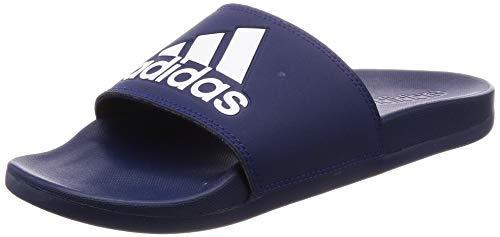 Adidas adilette comfort, scarpe da spiaggia e piscina uomo, blu (azuosc/ftwbla/azuosc 000), 42 eu