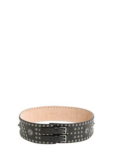Alexander McQueen Cintura Donna 471622Act0y1000 Pelle Nero