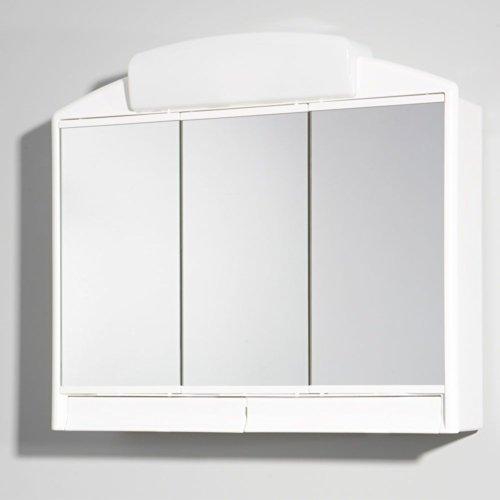 #Spiegelschrank weiß 59 x 51 cm Pharao24#