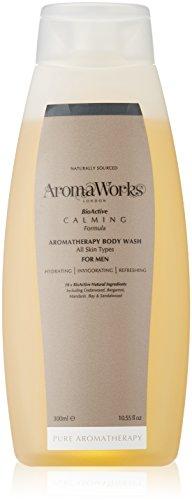 AromaWorks Herren Beruhigende Body Wash 300ml
