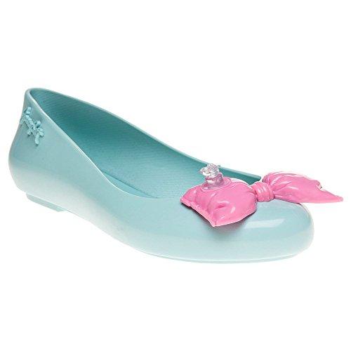 Melissa + Jeremy Scott Js Space Love Bow Mujer Zapatos Azul