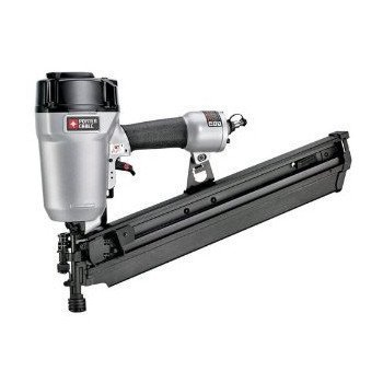 PORTER CABLE FR350BR Factory-Reconditioned 22-Degree Full Round Head Framing Nailer Kit, 3-1/2