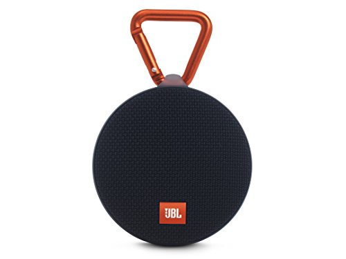 JBL Clip 2 Speaker Bluetooth, Waterproof, Ultra-Portatile, Ricaricabile con Microfono e Moschettone Integrato, Compatibile con Smartphone/Tablet e Dispositivi MP3, Nero