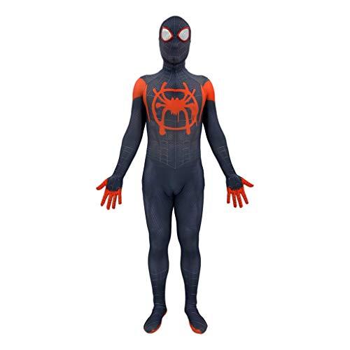 NDHSH Spiderman Parallel Universum Cosplay Kostüm Elastizität Overall Outfit Party Halloween Festival Abschlussball Kostüm für ()