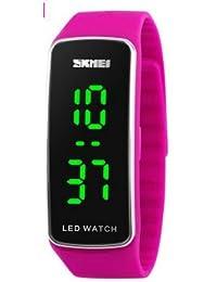 KEOIWDIE - Reloj de Pulsera Digital para Hombres y Mujeres, Estudiantes, Pareja, Silicona, LED, Deportivo, Pulsera…