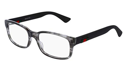 Gucci Frame - GREY-BLACK-TRANSPARENT