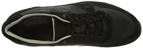 Ecco ECCO CS14 MEN'S, Herren Sneakers Schwarz (BLACK/BLACK 51707)