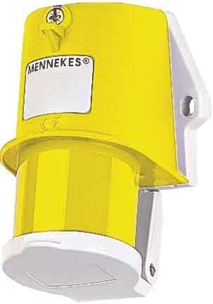 MENNEKES - CLAVIJA MURAL TA IP44 16A 3 POLOS 4H 1100V