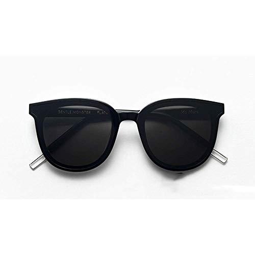 Sport-Sonnenbrille Lady Round Sonnenbrille Classic Black Sonnenbrille Sonnenbrille Laufen, Reiten, Angeln Sonnenbrille (Farbe: Schwarz)