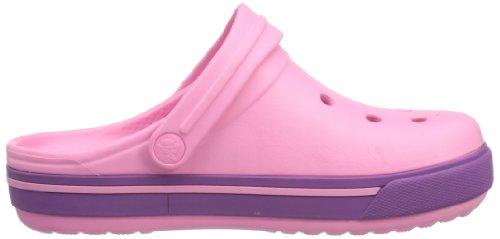 Rose Dahlia Pink Adulte Sabots Lemonade Mixte Crocband Crocs qwaCPIq