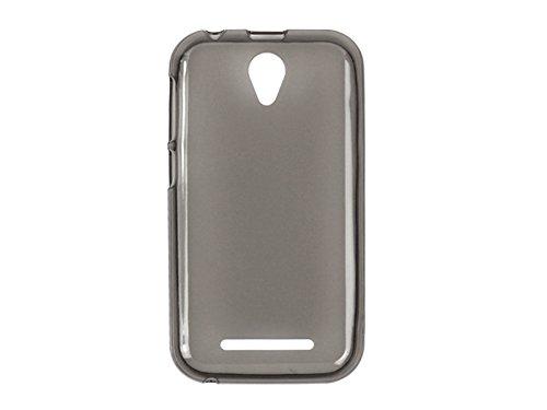etuo ZTE Blade L110 - Hülle FLEXmat Case - Schwarz - Handyhülle Schutzhülle Etui Case Cover Tasche für Handy