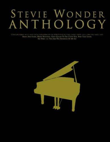Stevie Wonder Anthology (Piano, Vocal, Guitar) (Pvg)