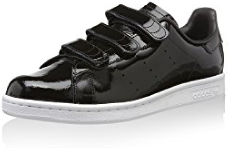 adidas Unisex-Erwachsene Stan Smith CF Sneaker, Schwarz, 46 2/3 EU -