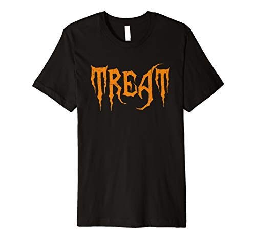 behandelt – Trick or Treat Passende Halloween T-Shirts