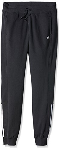 adidas Essentials Mid 3-Stripes Pantalon Femme Noir/blanc