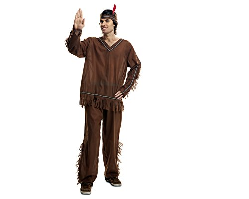 Imagen de my other me  disfraz de indio para adultos, talla s viving costumes mom00893