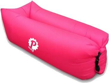Pevita - airPuf. Sofa, chaise de plage gonflable. Photos 100% réelles. Laybag parfaite pour aller à la plage, à la piscine, au jardin ou au camping. Coussin gonflable en différentes couleurs. Lazybag.(Rose)