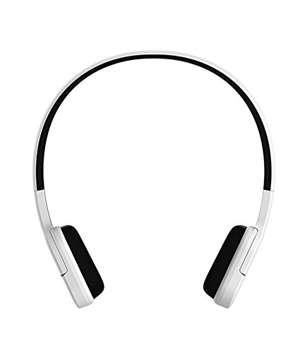 Jabees JB601 Wireless 15M Bluetooth 3.0 Headset with Noise Canceling HiFi 3.5mm Earphone with Accept or Reject Call (White)