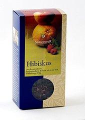 Preisvergleich Produktbild Sonnentor Tee Hibiskus lose, 1er Pack (1 x 80 g) - Bio
