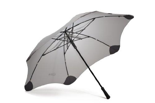 Blunt xl antivento ombrello da Golf, Colore: grigio argento