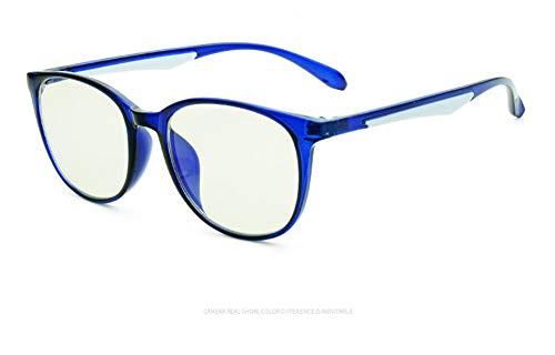 Delilya Blue Light Blocking Computer Brille Anti Blue Ray Square Brillen reduzieren die Belastung der Augen für Frauen Männer,Blue