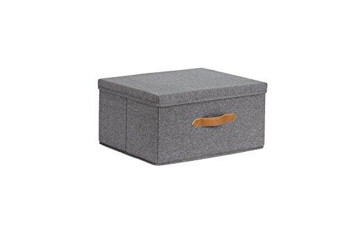 STORE.IT Premium Home Storage | Ordnungsbox mit Deckel  | 43x33x21cm | MDF verstärkt