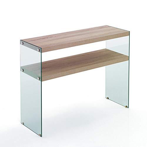 Wink Design Consolle Ingresso Treviso Legno Rovere 100x35x75 Cm