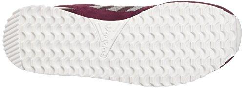 adidas - Zx 700, Scarpe da Ginnastica Basse Uomo Argento (Maroon/matte Silver/footwear White)