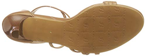 BATA Women's Jenna Gold Fashion Sandals-5 UK/India (38 EU) (7618037)