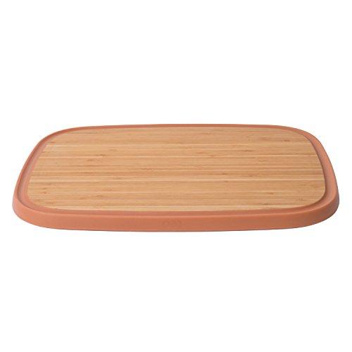 Berghoff leo bamboo wood kitchen tagliere antiscivolo, 37x 27cm (36,8x 27,2cm), marrone