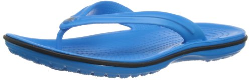 Crocs Crocband Flip, Tongs Mixte Adulte Bleu (Ocean/Black)