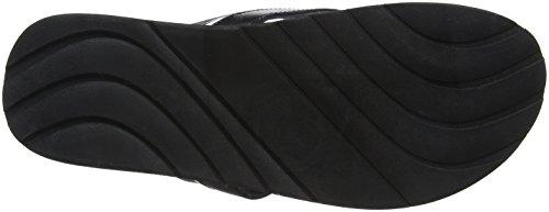 Pepe Jeans London Herren Barrel Fabric Zehentrenner Schwarz (Black)