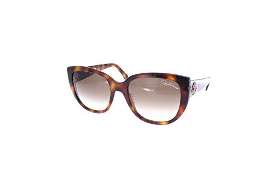 Lunettes de soleil Roberto Cavalli Tsih RC990S C55 52G (dark havana   brown  mirror) 75c29ba84de5
