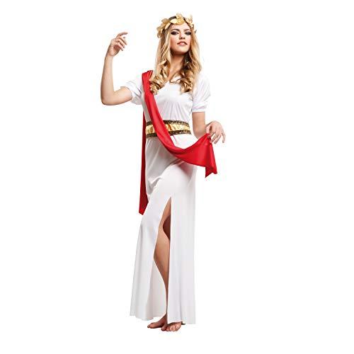 My Other Me Kostüm Agrippina mit Tunika für Damen, M-L, rot (viving Costumes 203226)