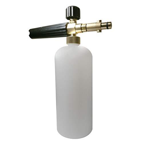Rediboom Boquilla dispensadora de jabón de Espuma para Nieve, Compatible con Arandelas de presión Nilfisk Gerni